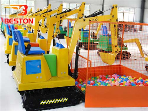 Beston Аттракцион детский экскаватор QL-KE 02 продажа
