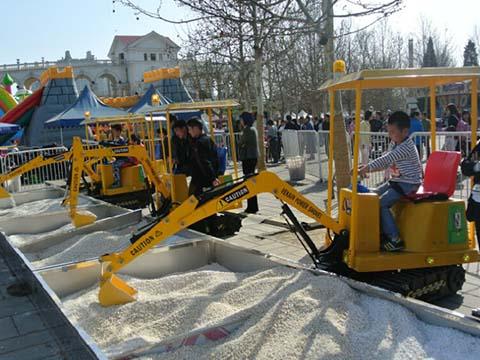 Beston Аттракцион детский экскаватор QL-KE 05 купить из китая