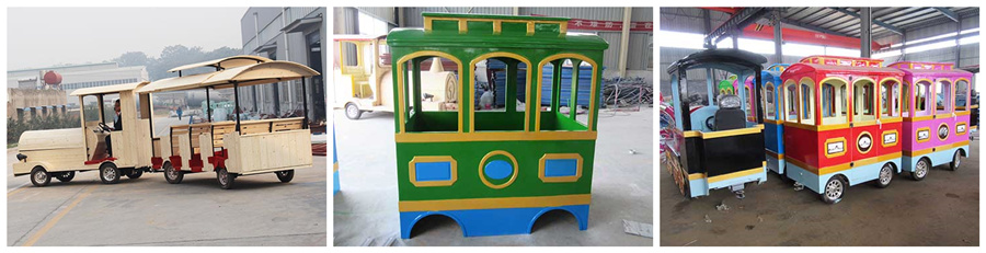 Аттракцион детский поезд