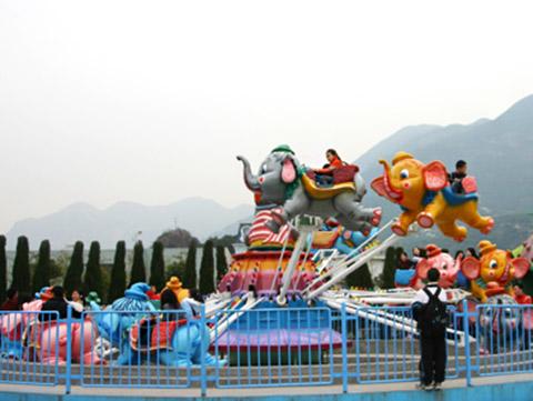 Аттракцион летающий слон BNSC-8B купить из китая