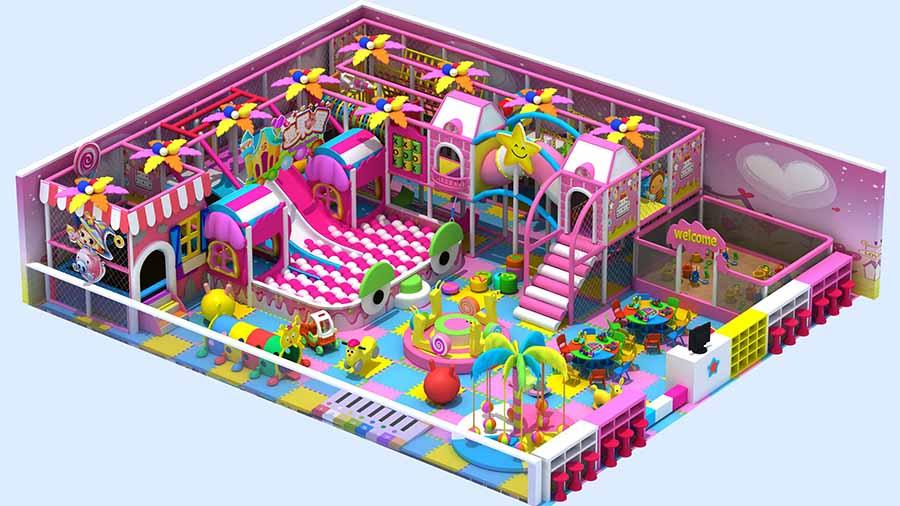 купить лабиринт для детской игровой комнаты
