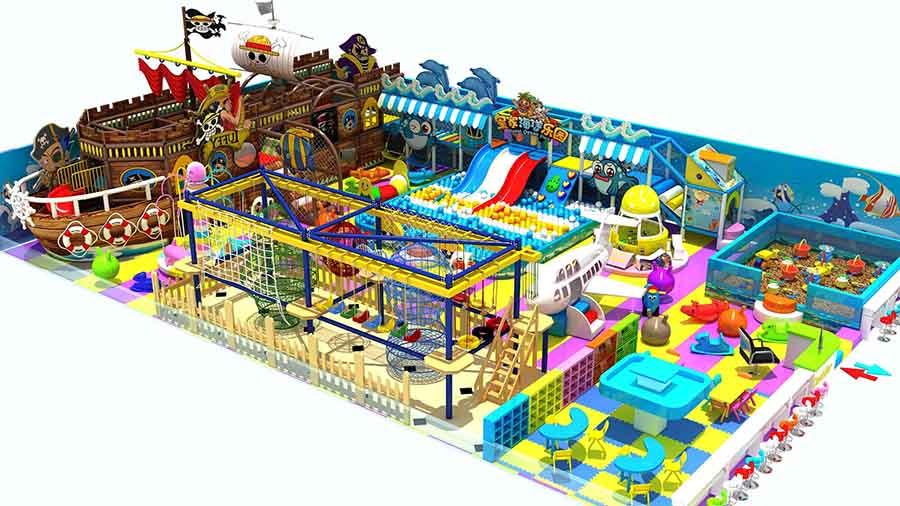 Детские крытые площадки