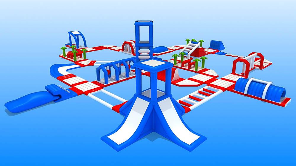 надувные игровые комплексы