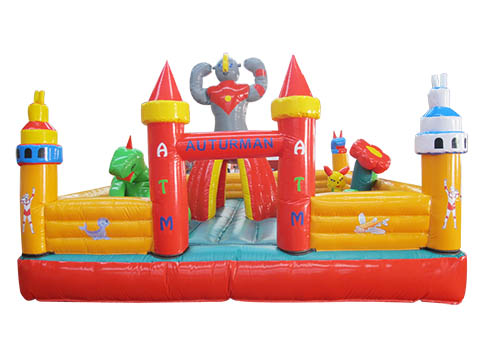надувной замок для детей