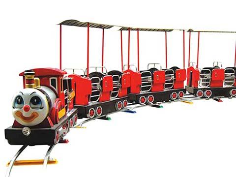 купить детский паровозик на рельсах для парка