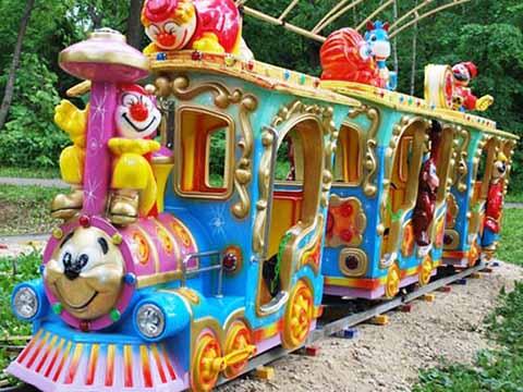 аттракцион детская железная дорога купить