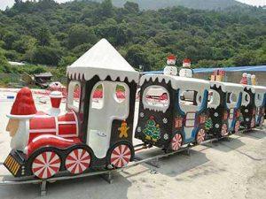купить детский аттракцион паровозик для парка