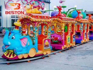 купить детский паровозик на рельсах