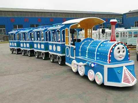 безрельсовый паровозик аттракцион поезд купить