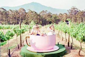 Аттракцион Чашки были экспортированы в Австралию