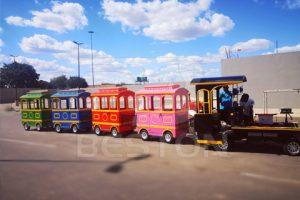 Аттракцион паровозик безрельсовый в южной африке