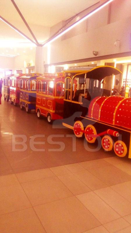Детский паровозик для торгового центра в южной африке