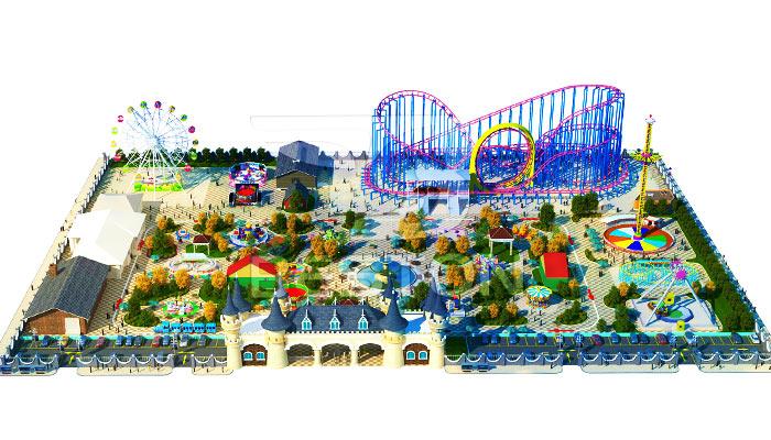 """Дизайн парка развлечений """"Fun Castle"""" в Бразилии"""