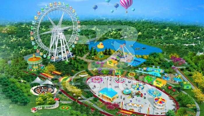 "Дизайн парка развлечений ""Fun-world"" в Пакистане"