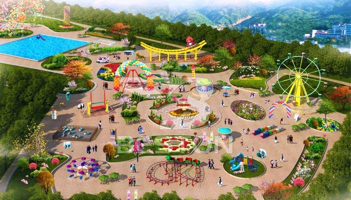 Дизайн парка развлечений в Южной Африке