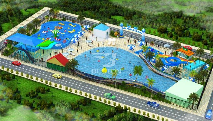 Открытый аквапарк