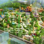 Дизайн парка развлечений