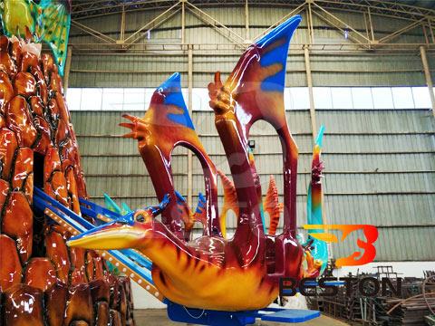 Аттракцион полёт Летающий дракон
