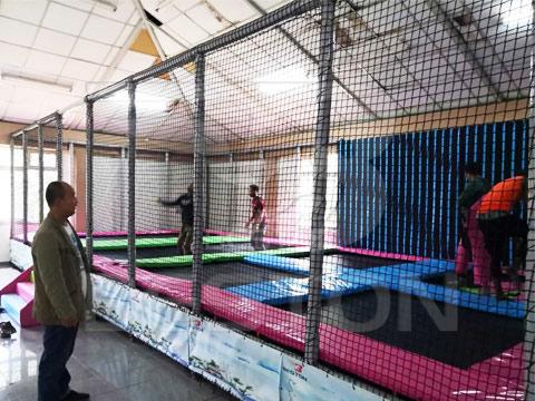 BESTON Батут в Эфиопии монтаж оборудования