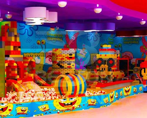 Детский лабиринт Лего