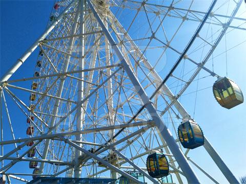 Аттракцион колесо обозрения 120м