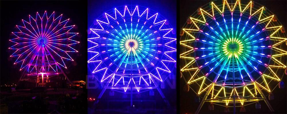 Китайский колесо обозрения 42 метра купить