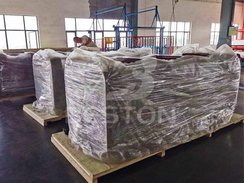 Упаковка аттракциона паровозик