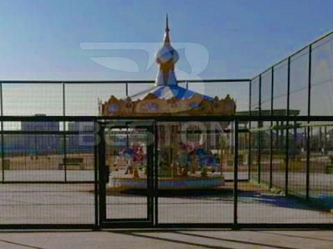 Beston Аттракцион карусель в Казахстане