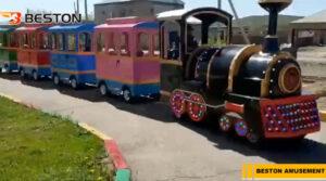 Beston Аттракцион детский паровозик в Казахстане