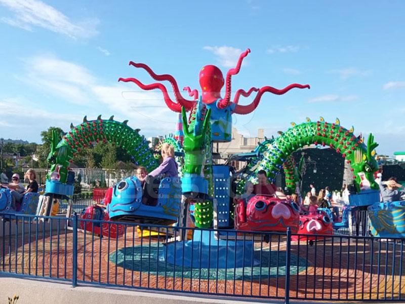 Аттракцион карусель осьминог