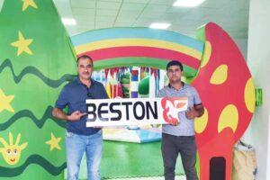 Beston оборудование для детских игровых комнат в Узбекистане